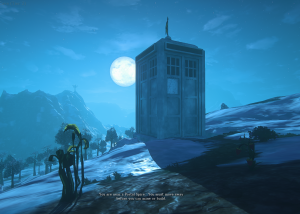 Die Tardis in EQN Landmark